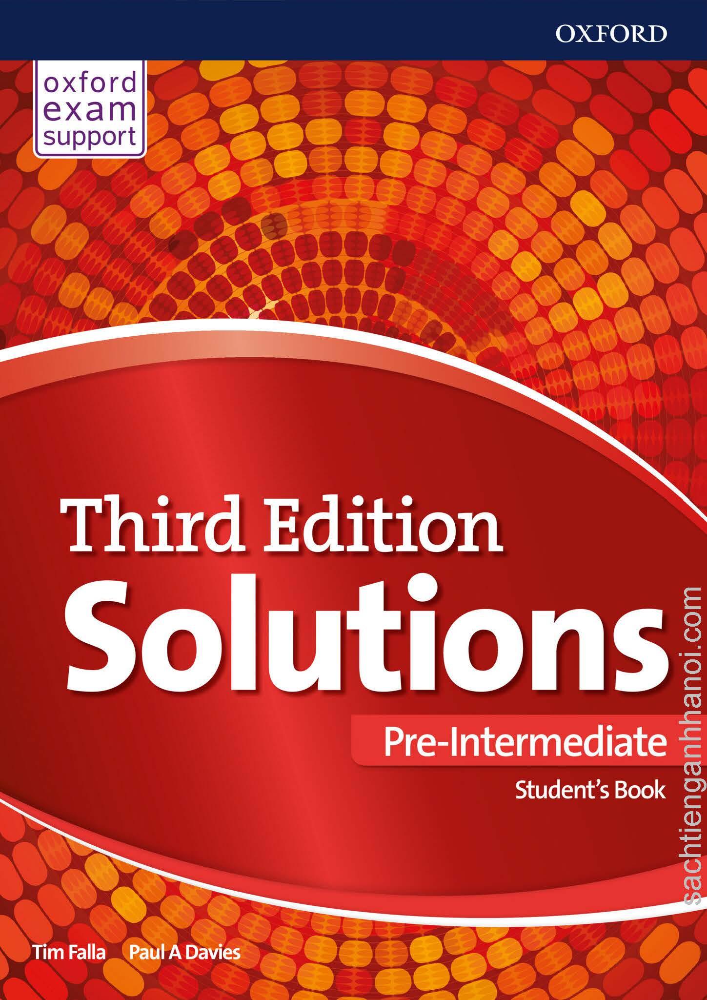 oxford solutions intermediate podręcznik